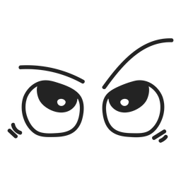 Maravilha emoticon olhos
