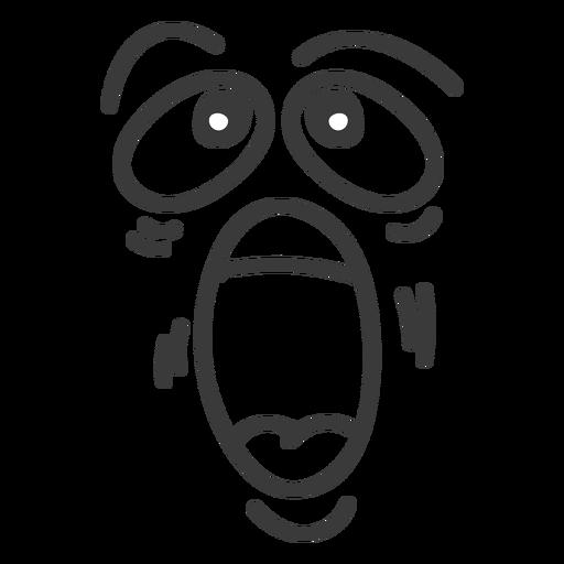 Gritando Desenhos Animados De Rosto De Emoticon Baixar Png Svg