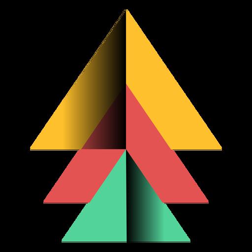 Apex piramide triangulo 3d plano Transparent PNG