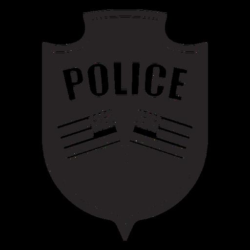 Silueta de bandera de la insignia Transparent PNG