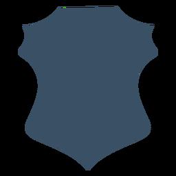 Abzeichen Wappenkunde Silhouette
