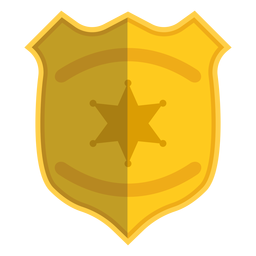 Badge illustration police