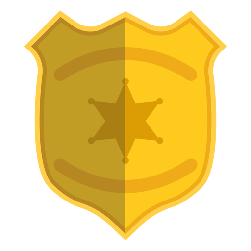 Badge illustration police Transparent PNG