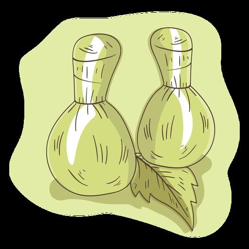 Bolsa aroma erva folha ilustração Transparent PNG