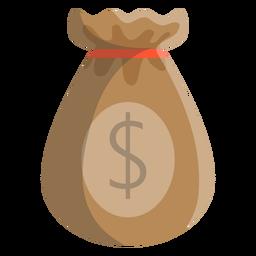 Ilustración dólar bolsa