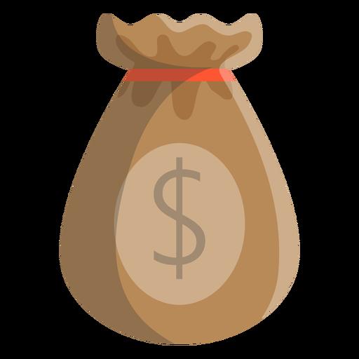 Ilustração de dólar de saco Transparent PNG