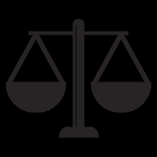 Silueta de equilibrio Transparent PNG