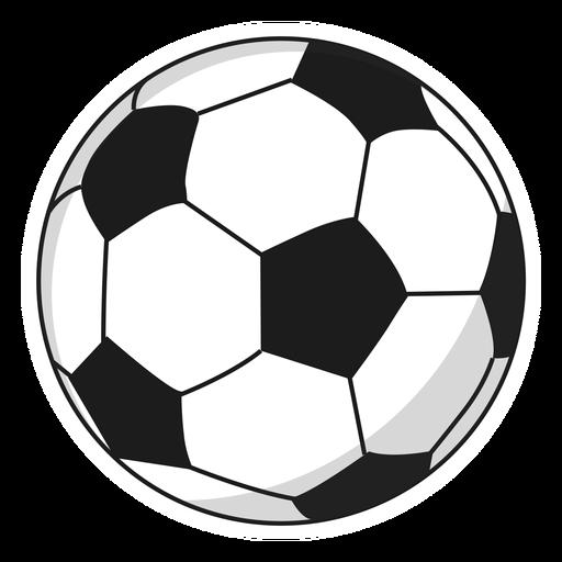 Ball football pentagon illustration
