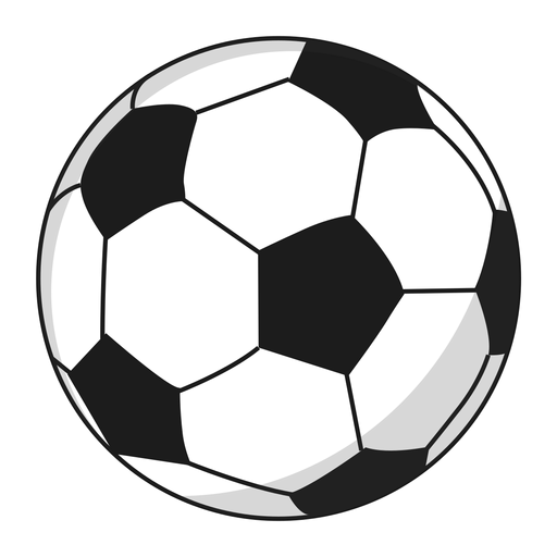 Ilustração de pentágono de bola de futebol Transparent PNG