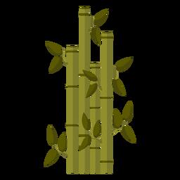 Ilustração de caule de bambu