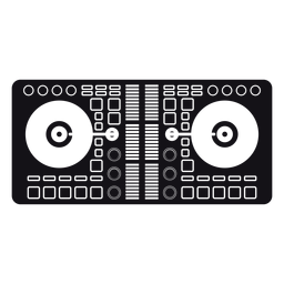 Basic mixer silhouette