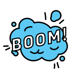 Boom-Aufkleber