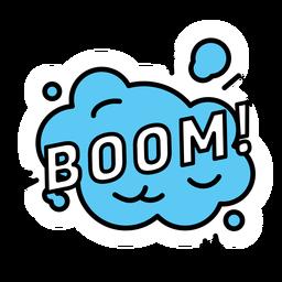 Pegatina boom