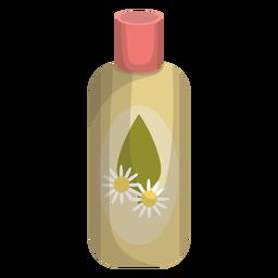 Ilustração de camomila de garrafa