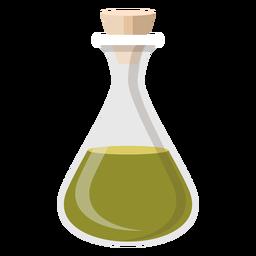Botella de corcho líquido ilustración