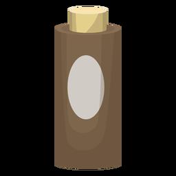 Ilustración de la botella