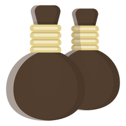Bottle pair illustration