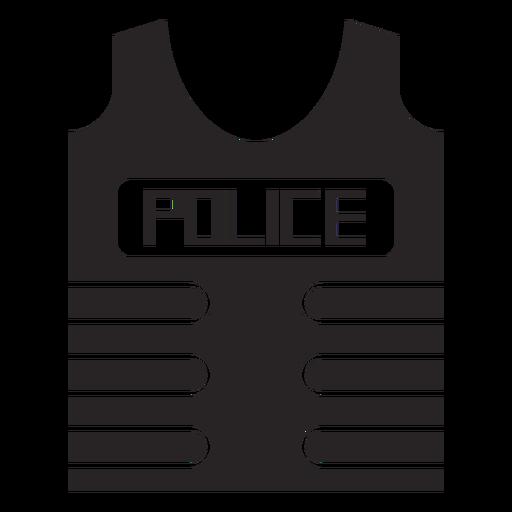 Silhueta de colete à prova de bala colete à prova de balas Transparent PNG