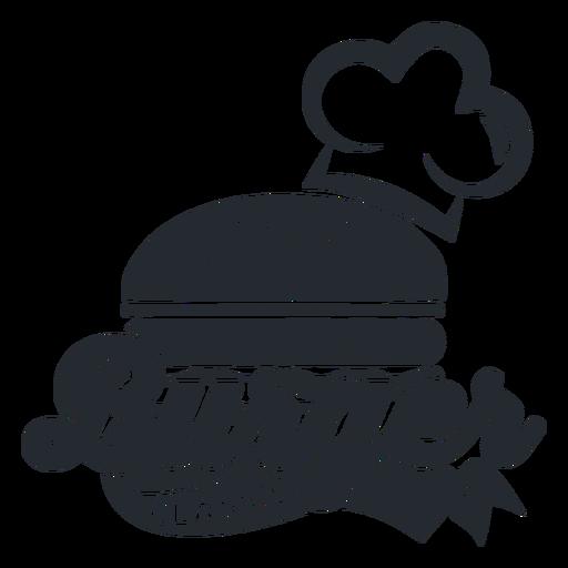 Burger logo logotype Transparent PNG
