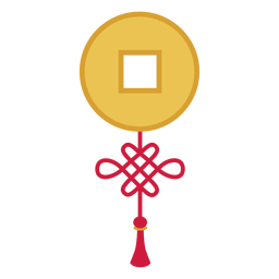 Boton de decoracion plana