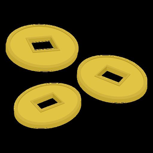 Botão, três, ilustração Transparent PNG