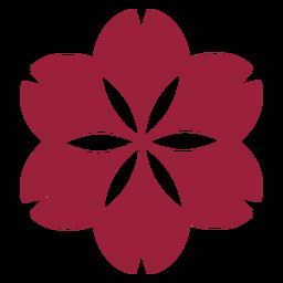Flor de manzanilla silueta