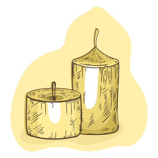 Candle illustration wax Transparent PNG