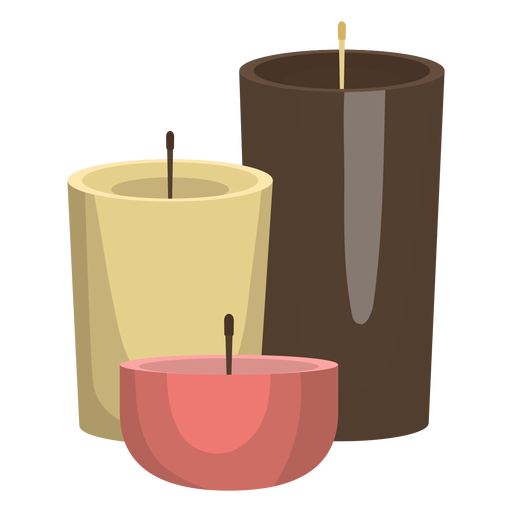 Candle wax illustration Transparent PNG