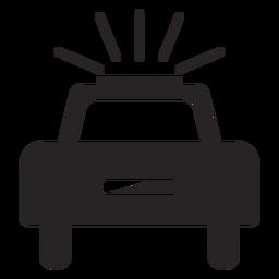 Silhoette pisca-pisca de carro