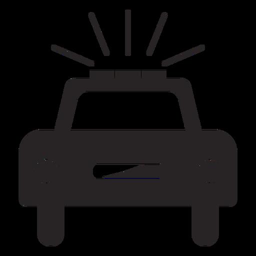 Silhoette pisca-pisca de carro Transparent PNG