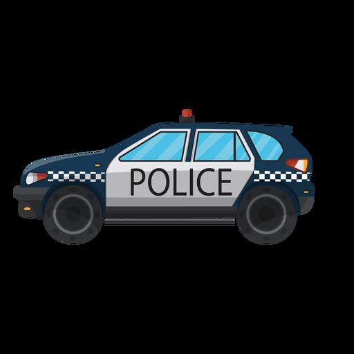 Ilustração de pára-choque de polícia de carro Transparent PNG