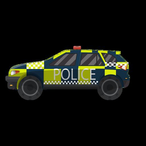 Polícia de carro verificada ilustração Transparent PNG