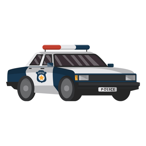 Car police emblem illustration Transparent PNG