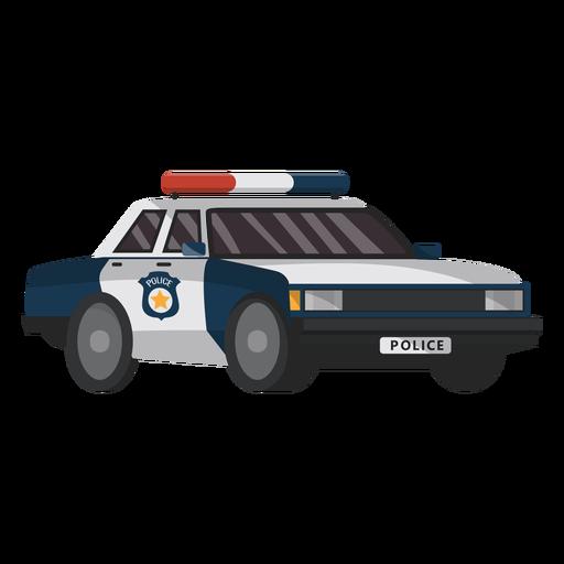 Ilustración de coche policía emblema Transparent PNG