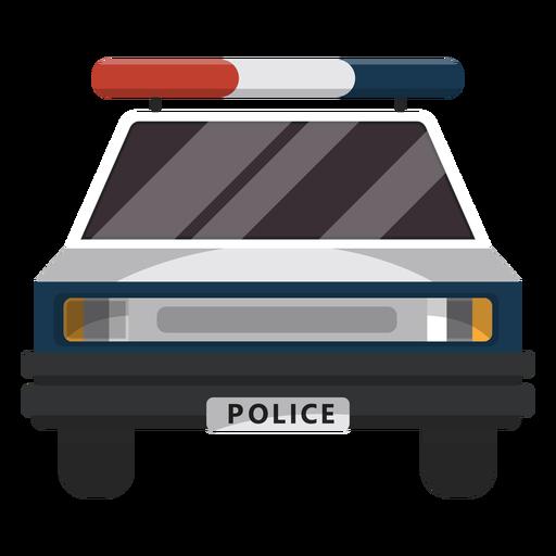 Ilustración de la policía de coches intermitente Transparent PNG