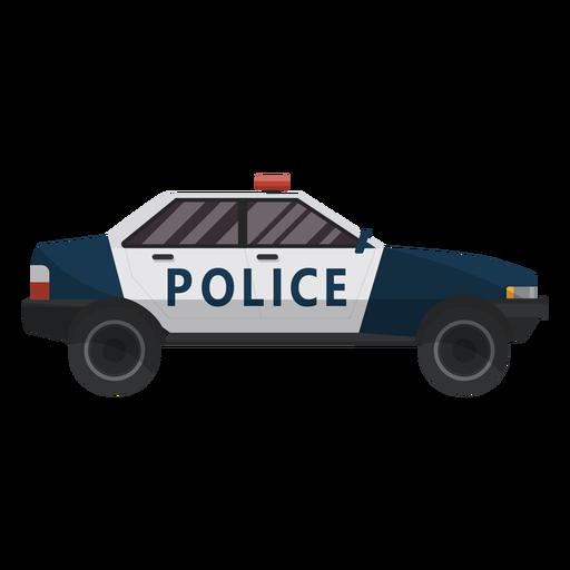 Car police illustration Transparent PNG