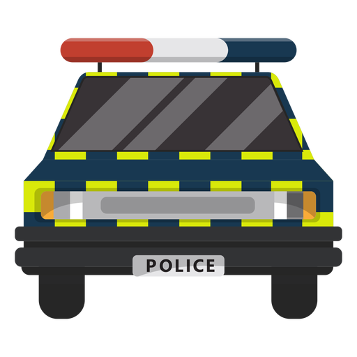 Ilustração de lei de polícia de carro Transparent PNG