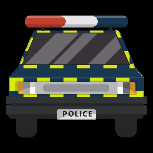 Ilustración de la ley de policía de coches Transparent PNG