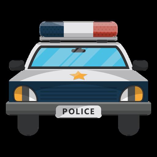 Car police star illustration Transparent PNG