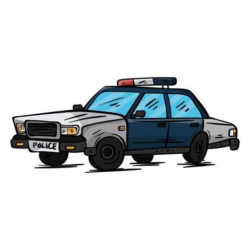Car police wheel illustration Transparent PNG