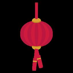 Chinesische Laterne flach