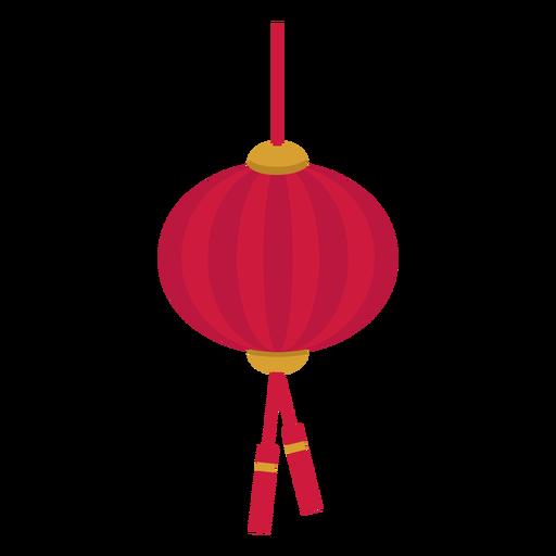 Chinese lantern flat - Transparent PNG & SVG vector file
