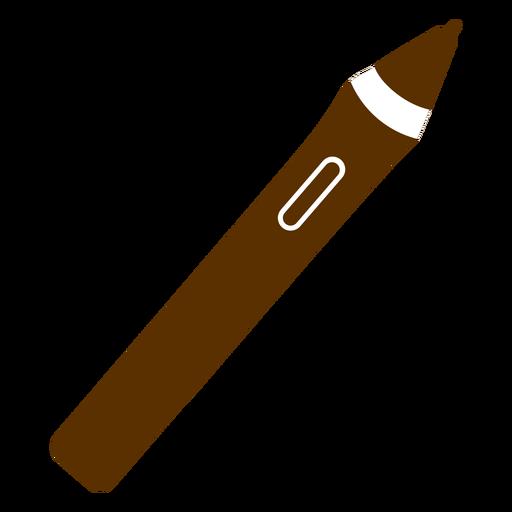 Silueta de lápiz digital Transparent PNG