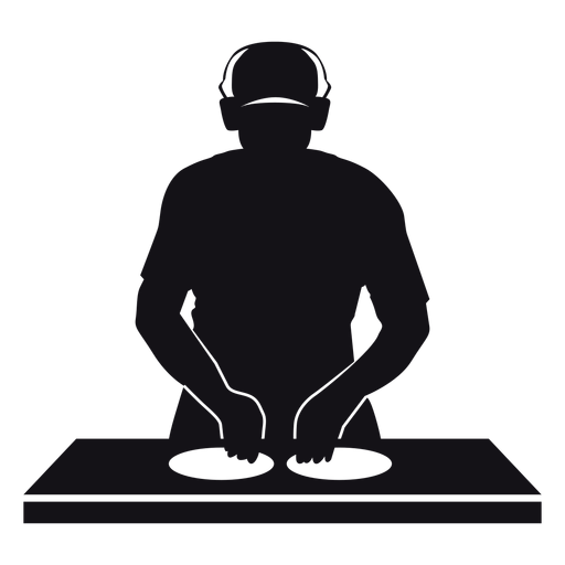 DJ-Mischerillustration Transparent PNG