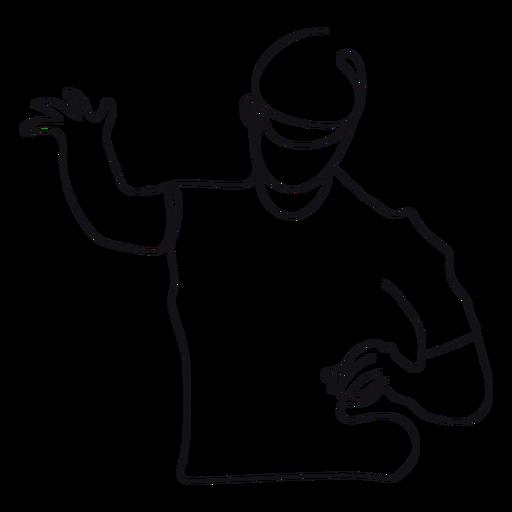 Esquema de dj Transparent PNG