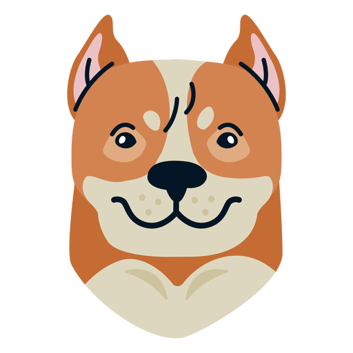 Dog  flat Transparent PNG