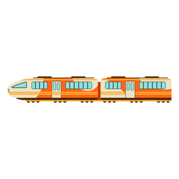 Electric train illustration