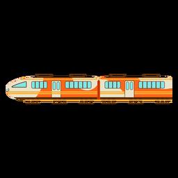 Ilustración de tren eléctrico