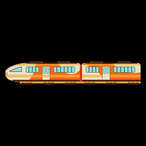 Ilustración de tren eléctrico Transparent PNG