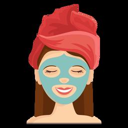 Gesichtsmaske Abbildung